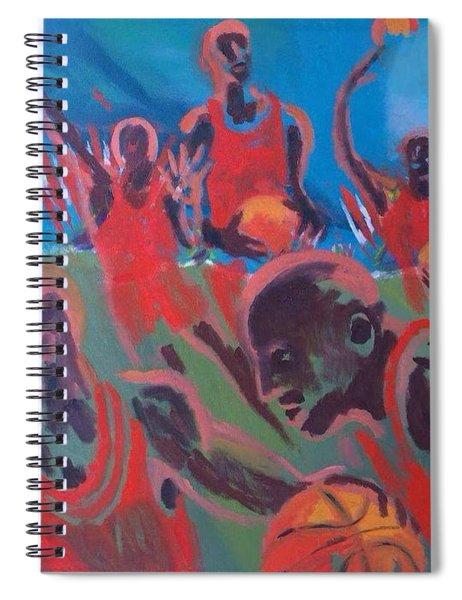 Basketball Soul Spiral Notebook