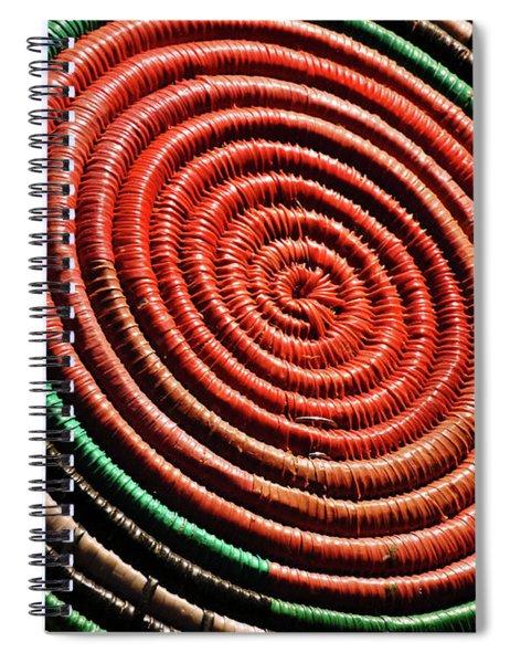 Basketry Color Spiral Notebook
