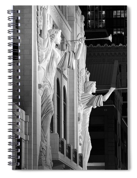 Bass Hall Fort Worth 520 Bw Spiral Notebook