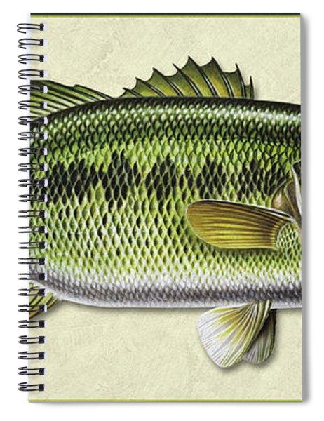 Bass Id Spiral Notebook
