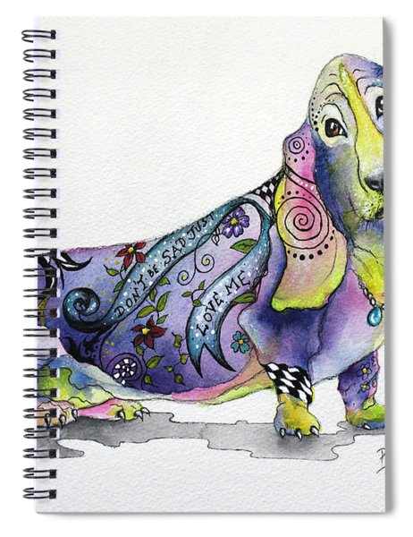 Basset Hound Horace Spiral Notebook