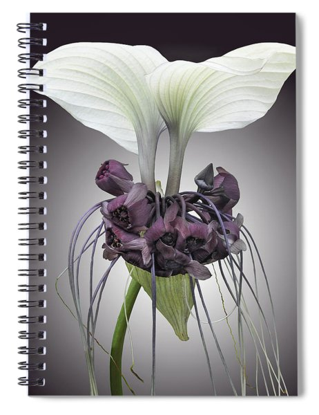 Bat Plant Spiral Notebook
