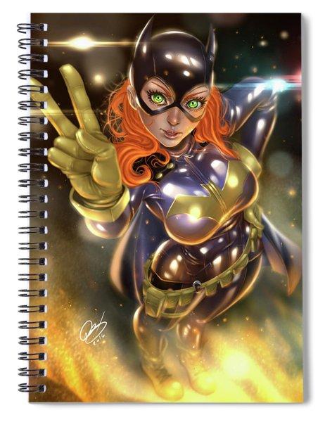 Batgirl Spiral Notebook