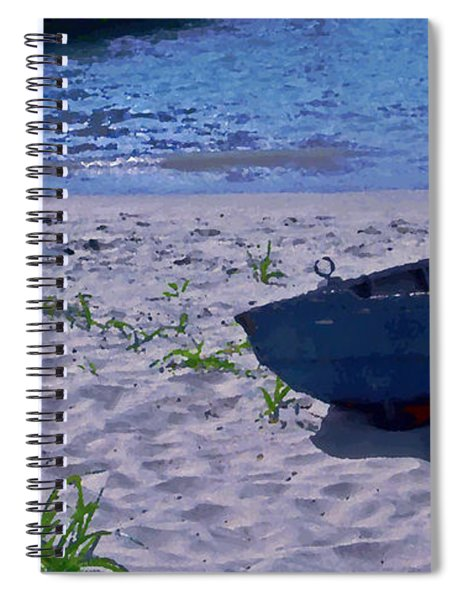 Bather By The Bay Spiral Notebook
