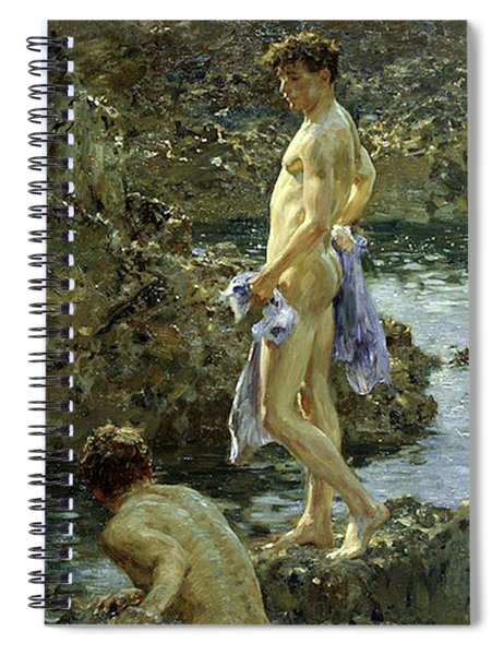 Bathing Group Of 1914 Spiral Notebook