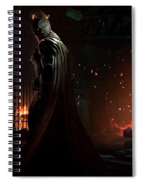 Batman Arkham Origins Spiral Notebook