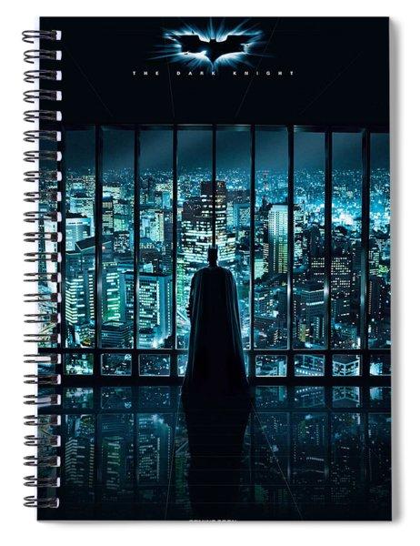Batman The Dark Night Spiral Notebook