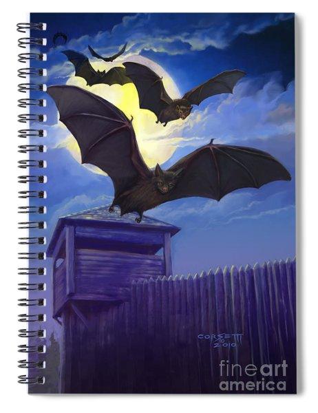 Batsfly Spiral Notebook