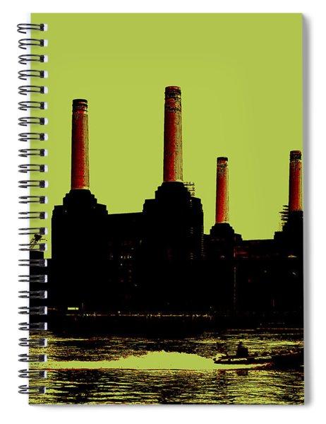 Battersea Power Station London Spiral Notebook