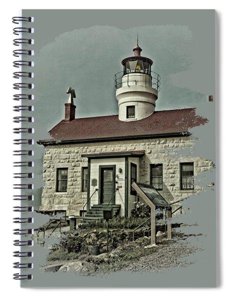 Battery Point Lighthouse Spiral Notebook