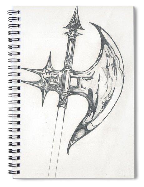 Battle Axe Spiral Notebook