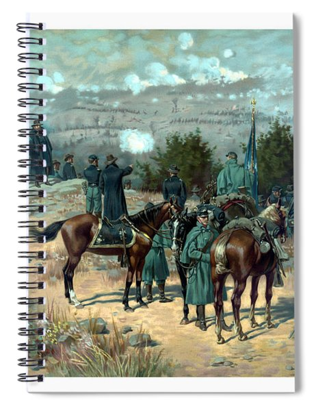 Battle Of Chattanooga Spiral Notebook