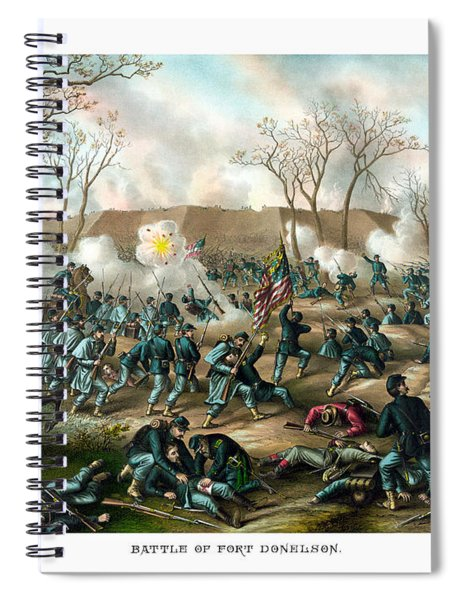 Battle Of Fort Donelson Spiral Notebook