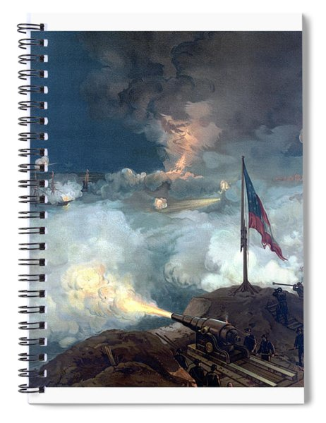 Battle Of Port Hudson Spiral Notebook