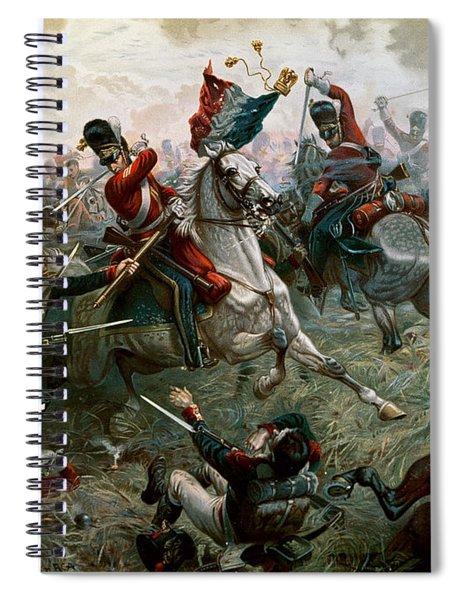 Battle Of Waterloo Spiral Notebook