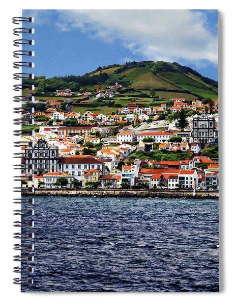 Bay Of Horta Spiral Notebook