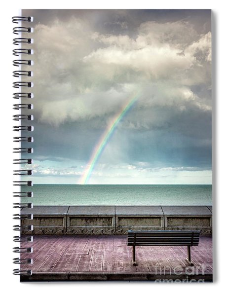 Bay Of Rainbows Spiral Notebook