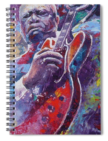 B.b.king 2 Spiral Notebook