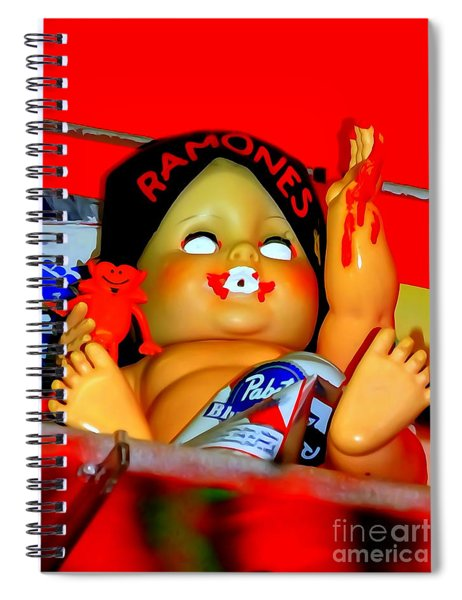 Be My Little Baby Spiral Notebook