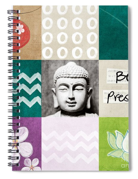 Be Present Spiral Notebook