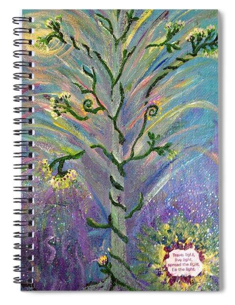 Be The Light Spiral Notebook