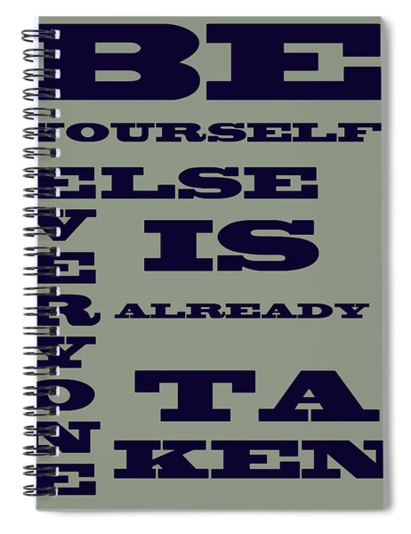 Be Yourself Spiral Notebook