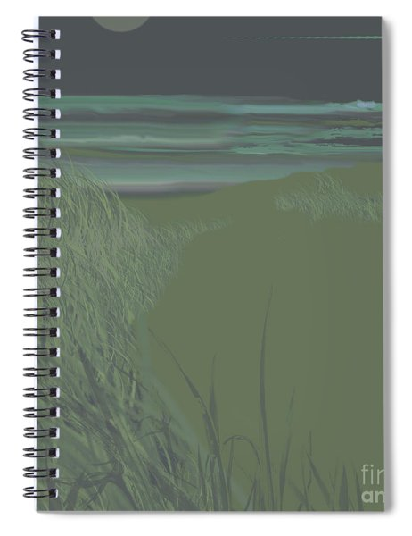 Beach 3 Spiral Notebook