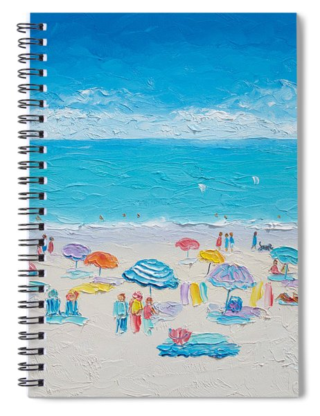 Beach Art - Fun In The Sun Spiral Notebook