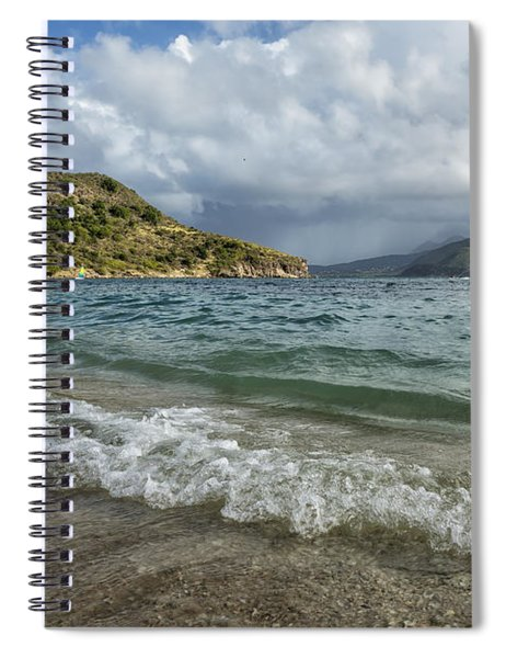 Beach At St. Kitts Spiral Notebook