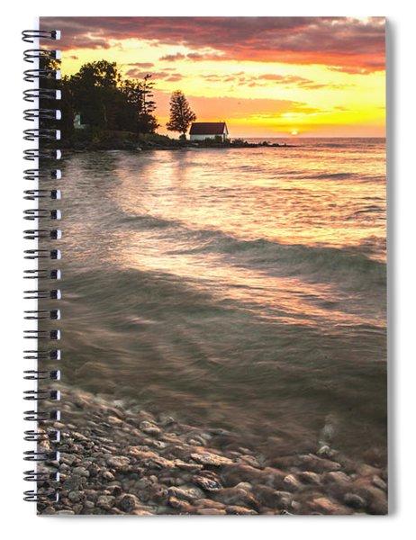 Beach Awakens Spiral Notebook
