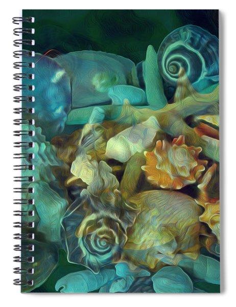 Beach Beauty 10  Spiral Notebook