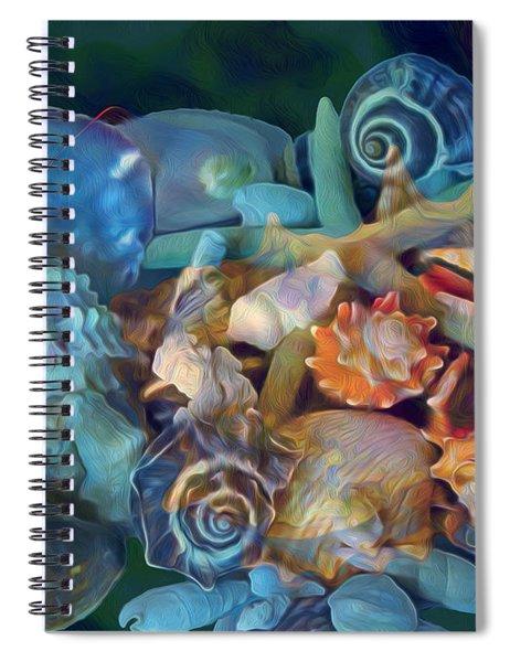 Beach Beauty 7 Spiral Notebook