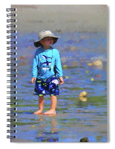 Beach Boy Spiral Notebook