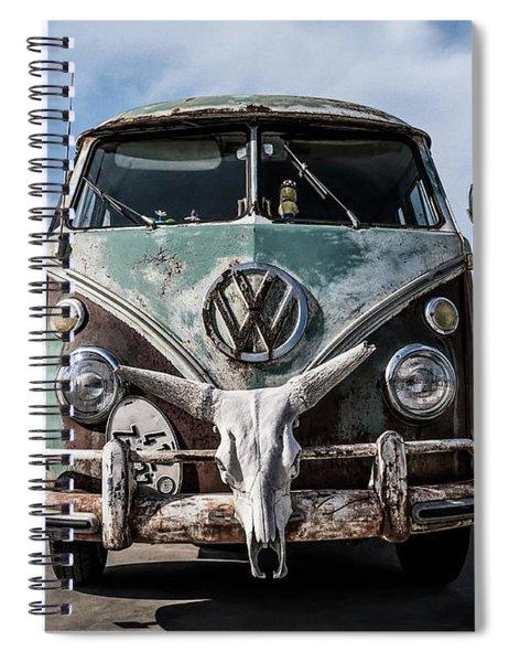 Beach Bum Spiral Notebook