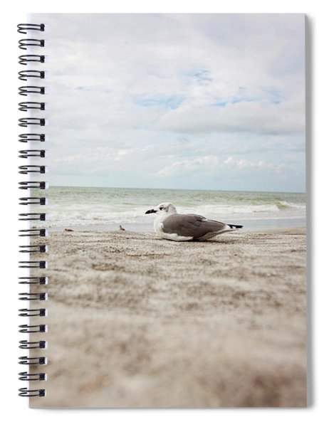 Beach Bum Spiral Notebook