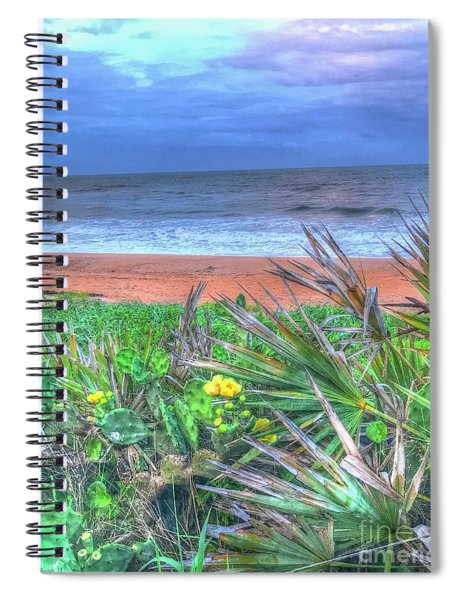 Beach Cactus Spiral Notebook
