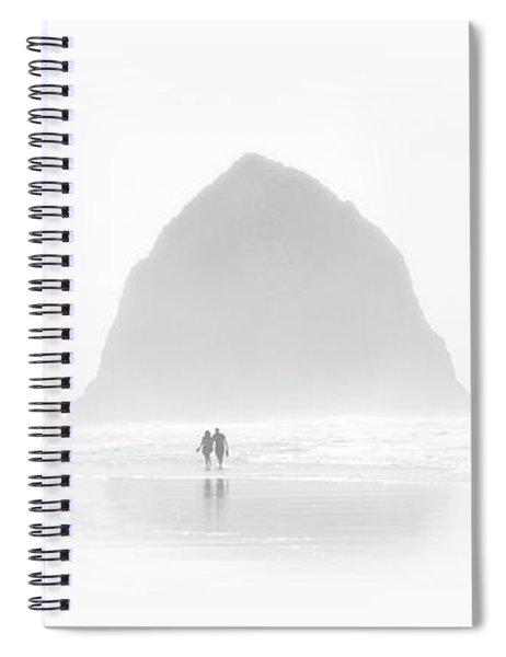 Beach Combers Spiral Notebook