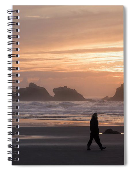 Beach Combers  Spiral Notebook