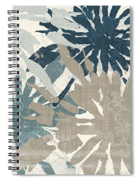Beach Curry Iv Ikat Spiral Notebook