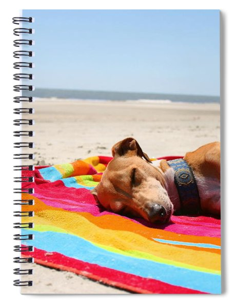 Beach Dreams Are Made Of These Spiral Notebook