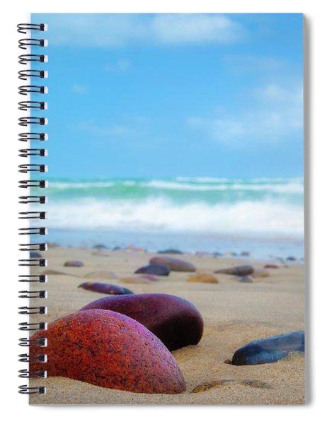 Beach Dreams In Skagen Spiral Notebook