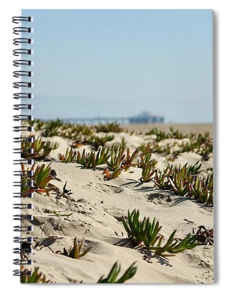 Beach Dune Spiral Notebook