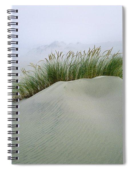 Beach Grass And Dunes Spiral Notebook