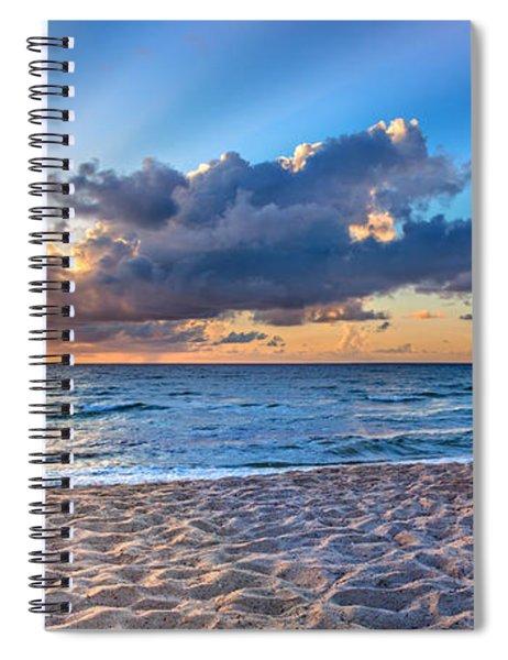 Beach Morning Spiral Notebook