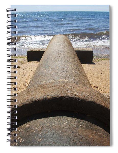 Beach Pipeline Spiral Notebook