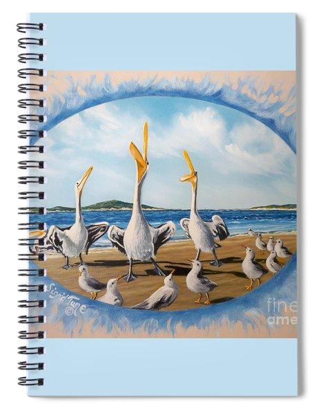 Privileged. Pelican  Procedure Prevailed   Spiral Notebook