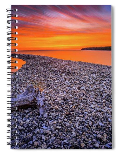 Beach Road Spiral Notebook