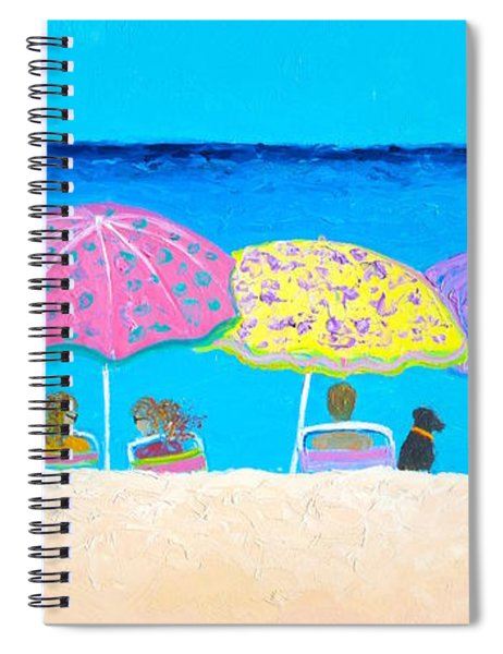 Beach Sands Perfect Tans Spiral Notebook