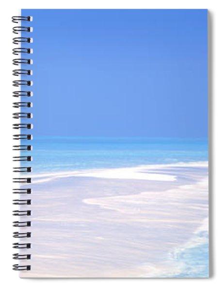 Beach Scenic The Maldives Spiral Notebook