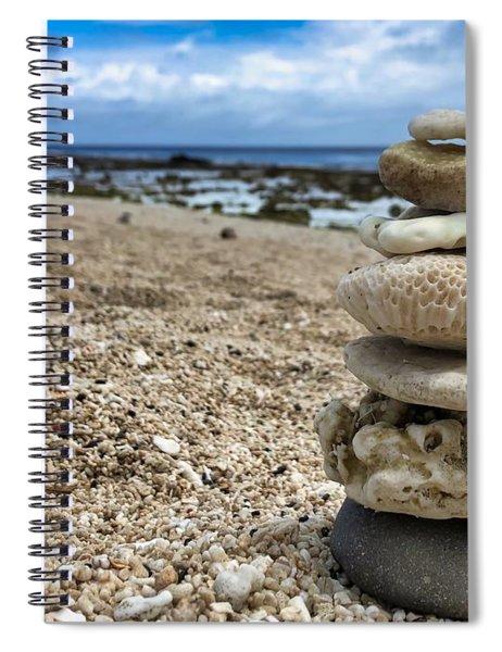 Beach Zen Spiral Notebook